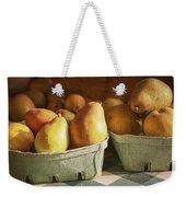 Pears Weekender Tote Bag by Caitlyn  Grasso