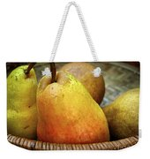 Pears In A Basket Weekender Tote Bag