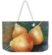 Pears Still Life Weekender Tote Bag