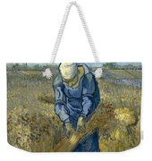 Peasant Woman Binding Sheaves - After Millet Weekender Tote Bag