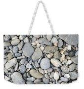 Pebble Background Weekender Tote Bag