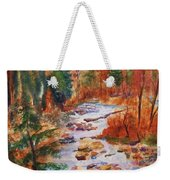 Pebbled Creek Weekender Tote Bag