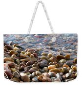 Pebbles On The Shore Weekender Tote Bag