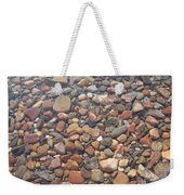 Pebbles Under Water Weekender Tote Bag
