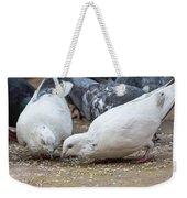 Pecking Pigeons Weekender Tote Bag