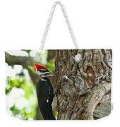 Pecking Woodpecker Weekender Tote Bag