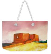 Pecos Mission Nm Weekender Tote Bag