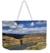 Pedalling The Pass Weekender Tote Bag