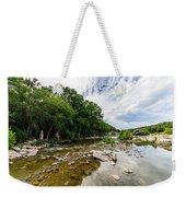 Pedernales River - Downstream Weekender Tote Bag