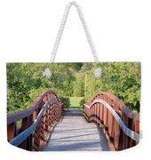 Pedestrian Bridge Weekender Tote Bag