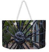 Peek Into Courtyard Weekender Tote Bag