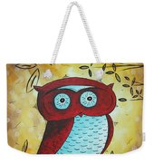 Peekaboo By Madart Weekender Tote Bag