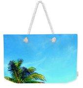 Peekaboo Palm - Tropical Art By Sharon Cummings Weekender Tote Bag