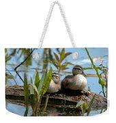 Peeking Ducks Weekender Tote Bag