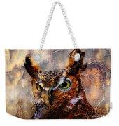 Peeking Owl Weekender Tote Bag