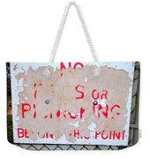 Peeling Paint Weekender Tote Bag