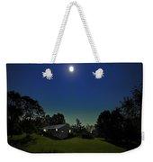 Pegasus And Moon Weekender Tote Bag by Greg Reed
