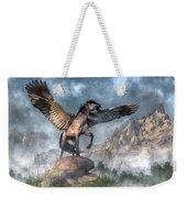Pegasus Weekender Tote Bag by Daniel Eskridge