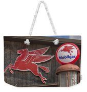 Pegasus And Mobilgas Weekender Tote Bag