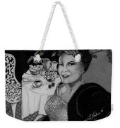 Peggy Lee Weekender Tote Bag