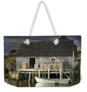 Peggys Cove Fishing Village Weekender Tote Bag