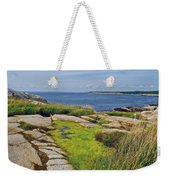 Peggy's Cove From Lighthouse-ns Weekender Tote Bag