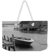 Peggys Cove In Black And White Weekender Tote Bag