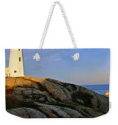 Peggy's Cove Lighthouse Weekender Tote Bag