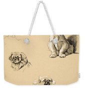 Pekes, 1930, Illustrations Weekender Tote Bag