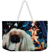 Pekingese Art - Star Wars Movie Poster Weekender Tote Bag