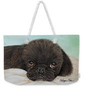 Buddy The Pekingese Weekender Tote Bag
