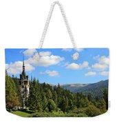 Peles Castle Weekender Tote Bag