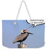 Pelican Anniversary Card Weekender Tote Bag
