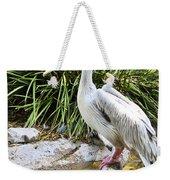 Pelican At Rest Weekender Tote Bag