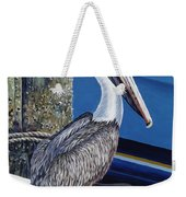 Pelican Blues Weekender Tote Bag