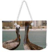 Pelican Couple Weekender Tote Bag