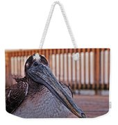 Pelican Eye Weekender Tote Bag