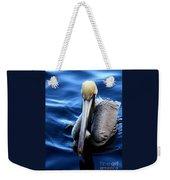 Pelican In The Bay Weekender Tote Bag