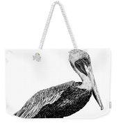 Monterey Pelican Pooping Weekender Tote Bag