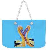 Pelican Pals Weekender Tote Bag