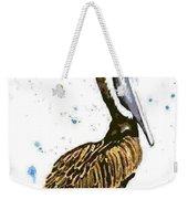 Pelican Pete Weekender Tote Bag