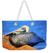 Pelican Rest Weekender Tote Bag