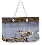 Pelican Rest Stop Weekender Tote Bag