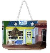 Pelican Restaurant On Lake Ave In Lake Worth Florida Weekender Tote Bag