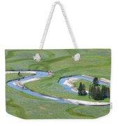 Pelican Valley Swirls Weekender Tote Bag