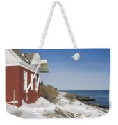 Pemaquid Point Bell House On The Maine Coast Weekender Tote Bag