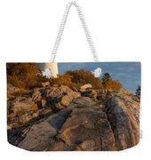Pemaquid Point Light I Weekender Tote Bag
