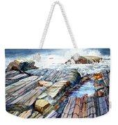 Pemaquid Rocks Weekender Tote Bag