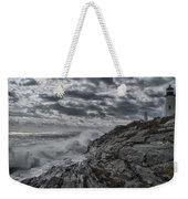 Pemaquid Seas Weekender Tote Bag