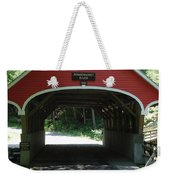Pemigewasset River Bridge Weekender Tote Bag